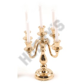 Brass Candlelabra (5 Arm)