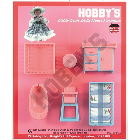 Babys Bedroom Furniture - 16th Scale