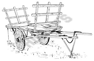 Cotswold Harvest Cart