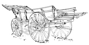 Essex Plank - Sided Waggon Plan