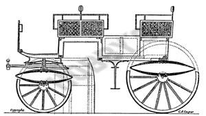 Pair Horse Char-a-Banc Plan