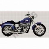 Harley Davidson Low Rider - Cross Stitch