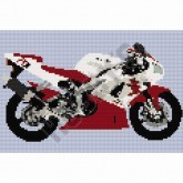 Yamaha Ri 1998 - Cross Stitch