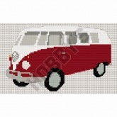 Cross Stitch - Camper Van with Split Screen
