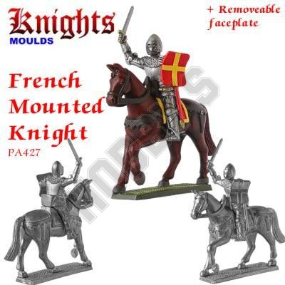 Medieval French Mounted Knight