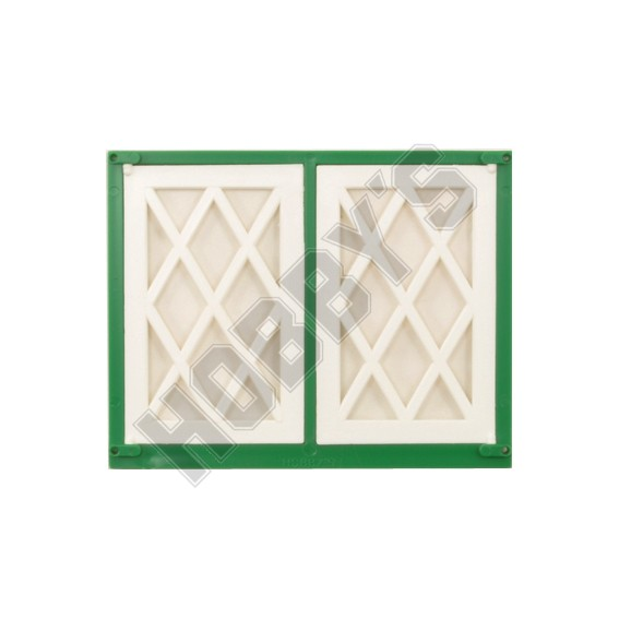 Lattice Double Window