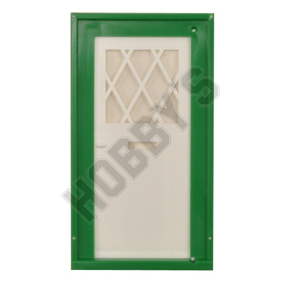 Lattice Front Door (