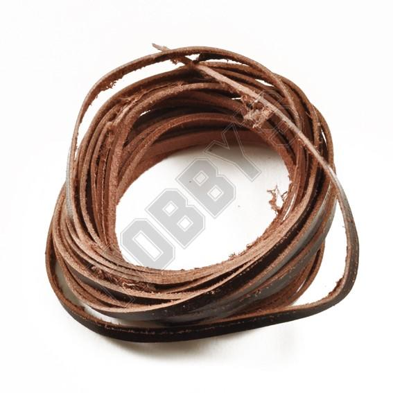 Leather Thonging - Dark Brown