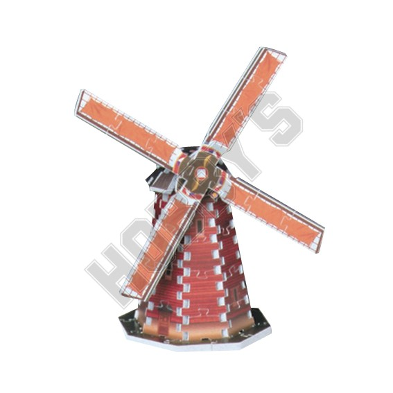 Mini 3D Puzzle - Windmill