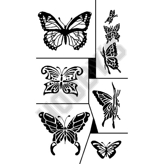 Butterflys X 6 (All Different)