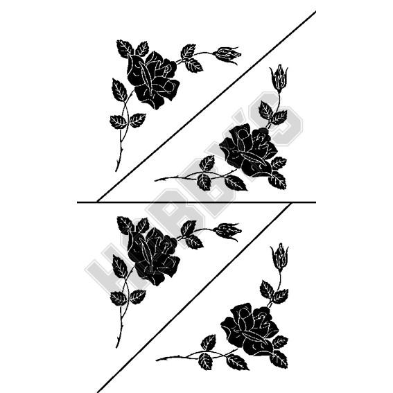 Flowers - Rose X 4