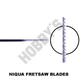 Niqua Fret Blades Size 1