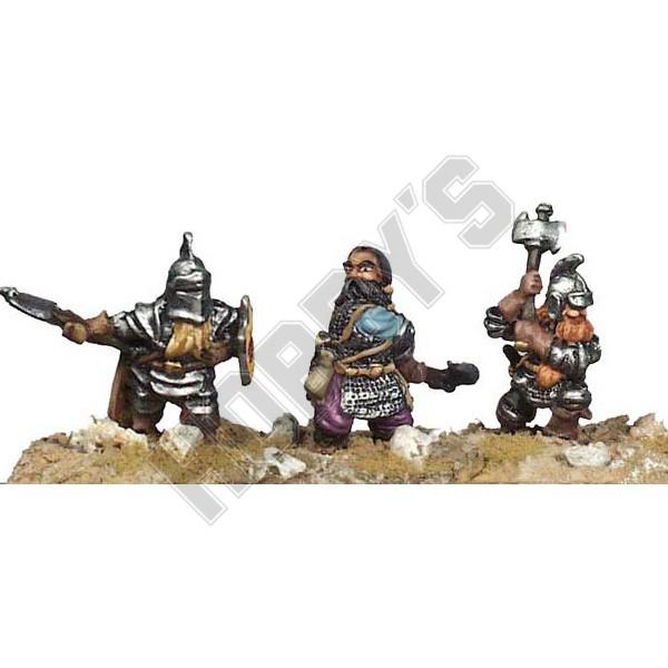 Dwarf Axemen X 3