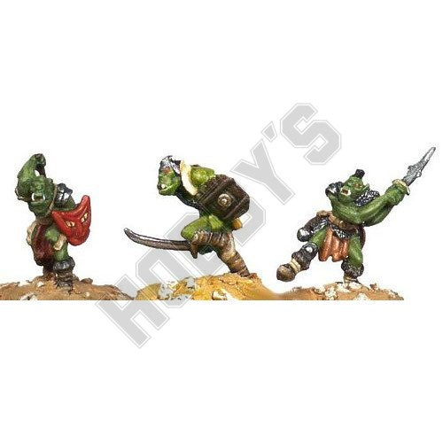Orc Berserkers 3 X