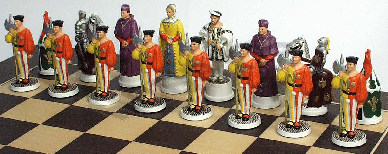 Francis 1st's Chess set