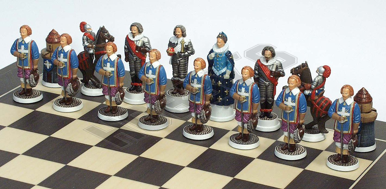 Kings Musketeers Chess Set