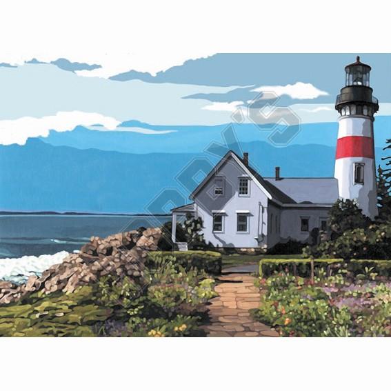 Artist Canvas - The Lighthouse