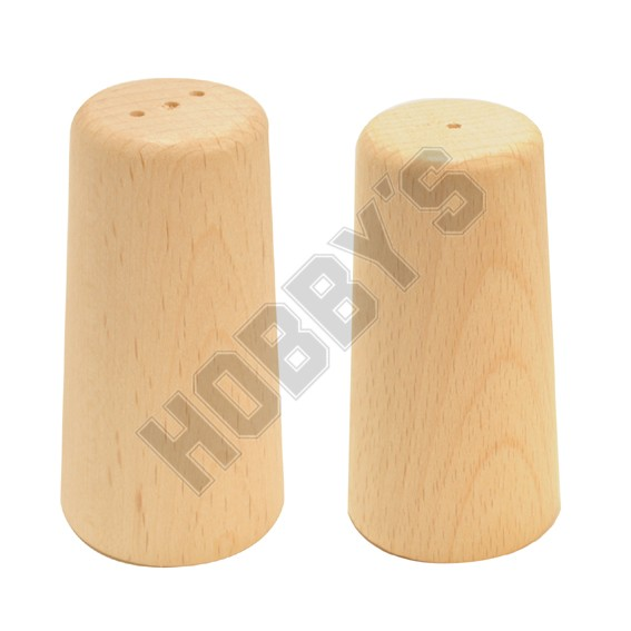 Wooden Salt & Pepper Pots