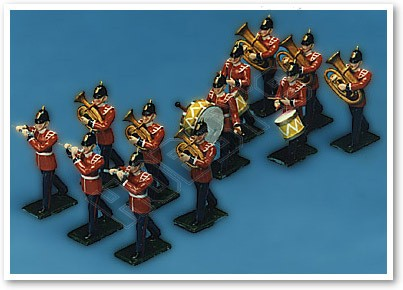 Traditional British Soldiers - Band Instruments No. 2