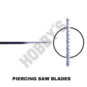 Piercing Blades Assorted Pack Of 12
