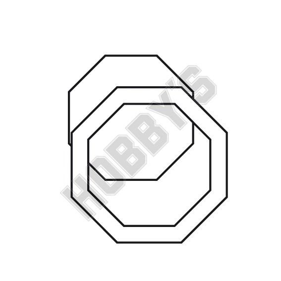 Fabric - Octagon Shaped
