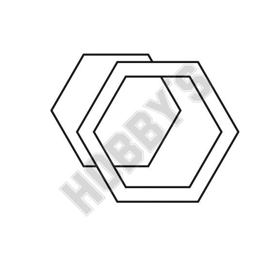 Piece of Fabric - Hexagon