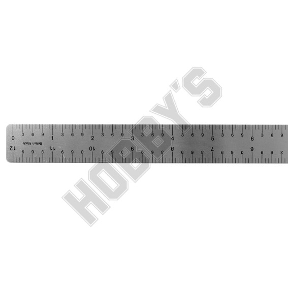 1/12 Steel Rule 1:12 Scale