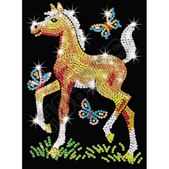 Foal - Sequin Art