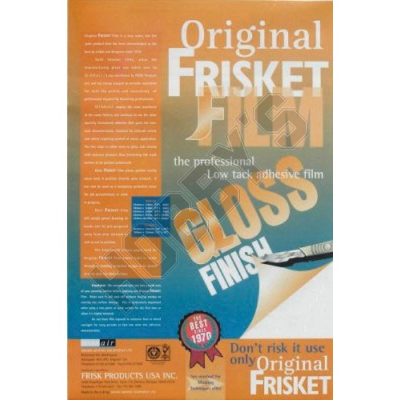 Frisket Film - Sheet