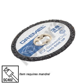 Dremel EZ Speedclic Plastic Cutting Wheel