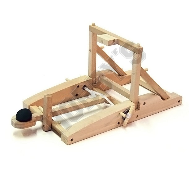 Wooden Medieval Catapult kit