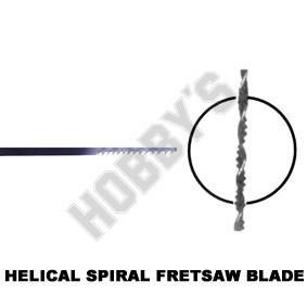 Helical/Spiral Fret Blades