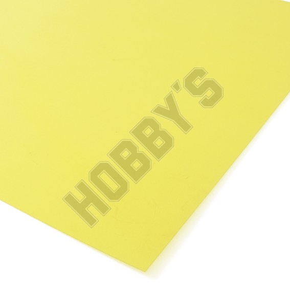 Translucent Coloured Sheet - Yellow