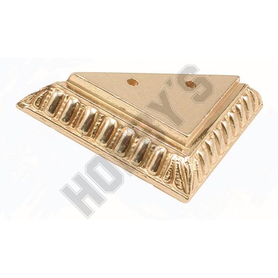 Brass Corner Foot