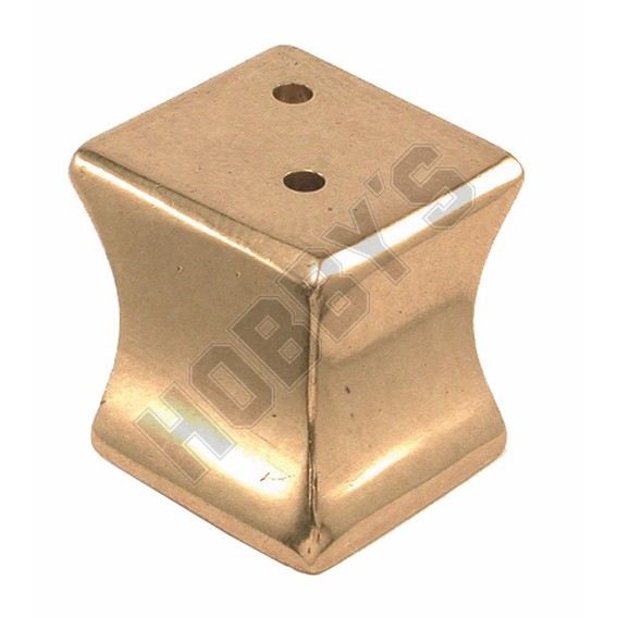 Brass Corner Foot
