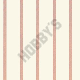 StripeWallpaper - Pink on Ivory
