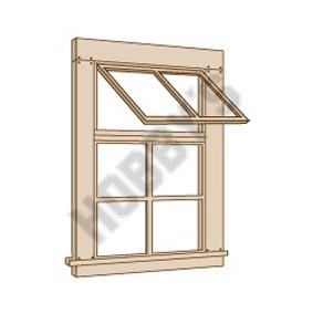 6 Panel Window