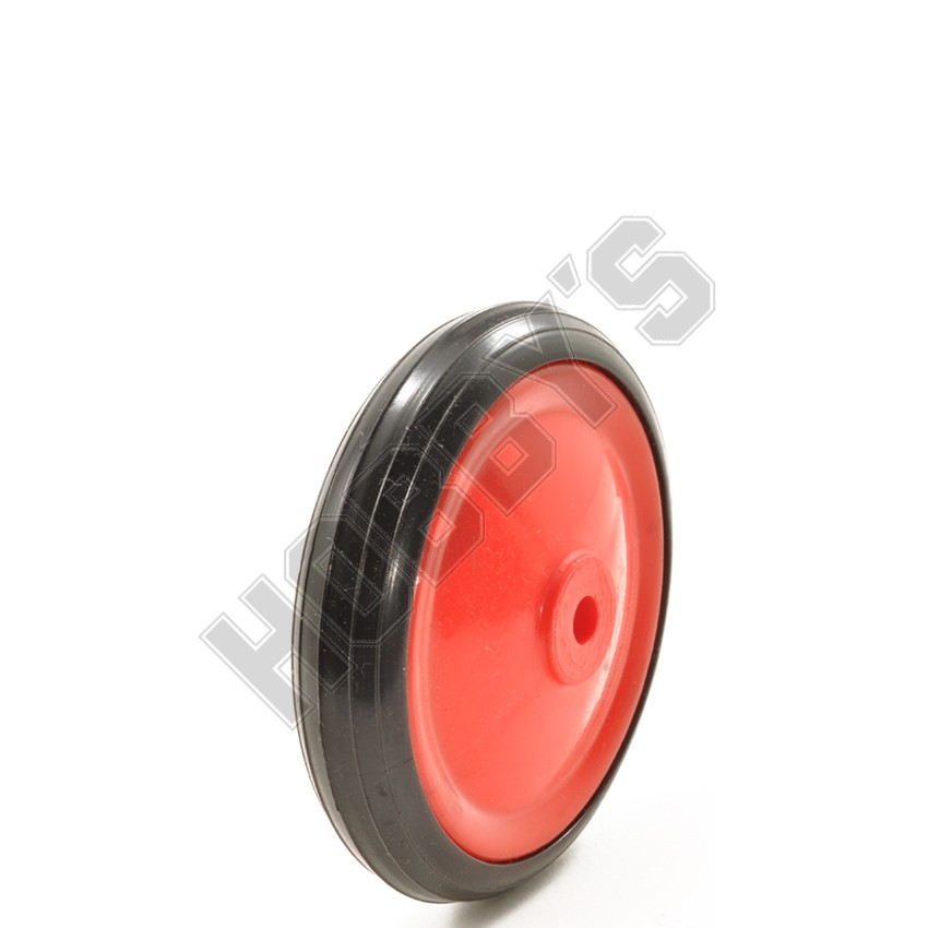 Red Center Black Tyre