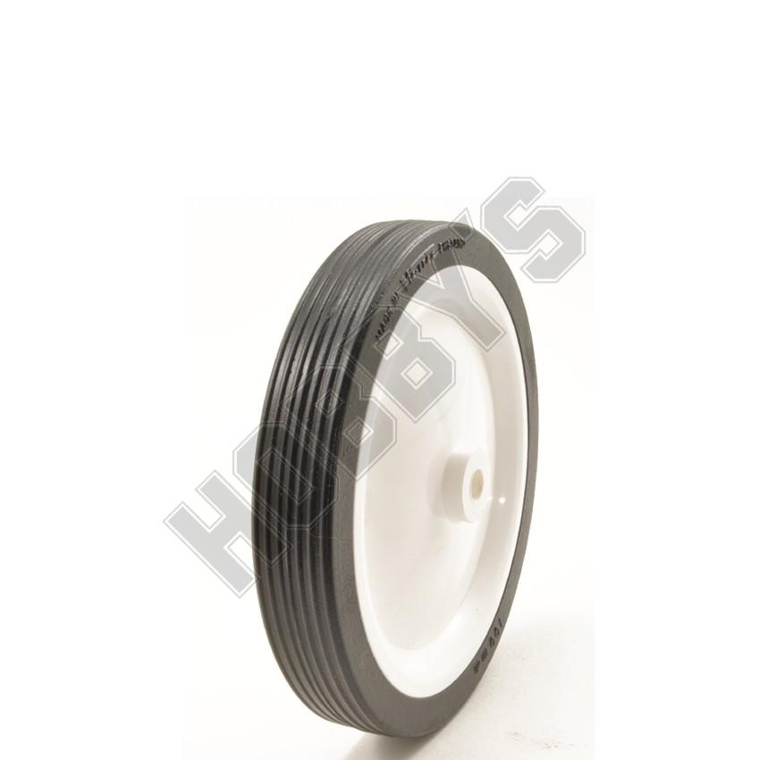 White Center Black Tyre (