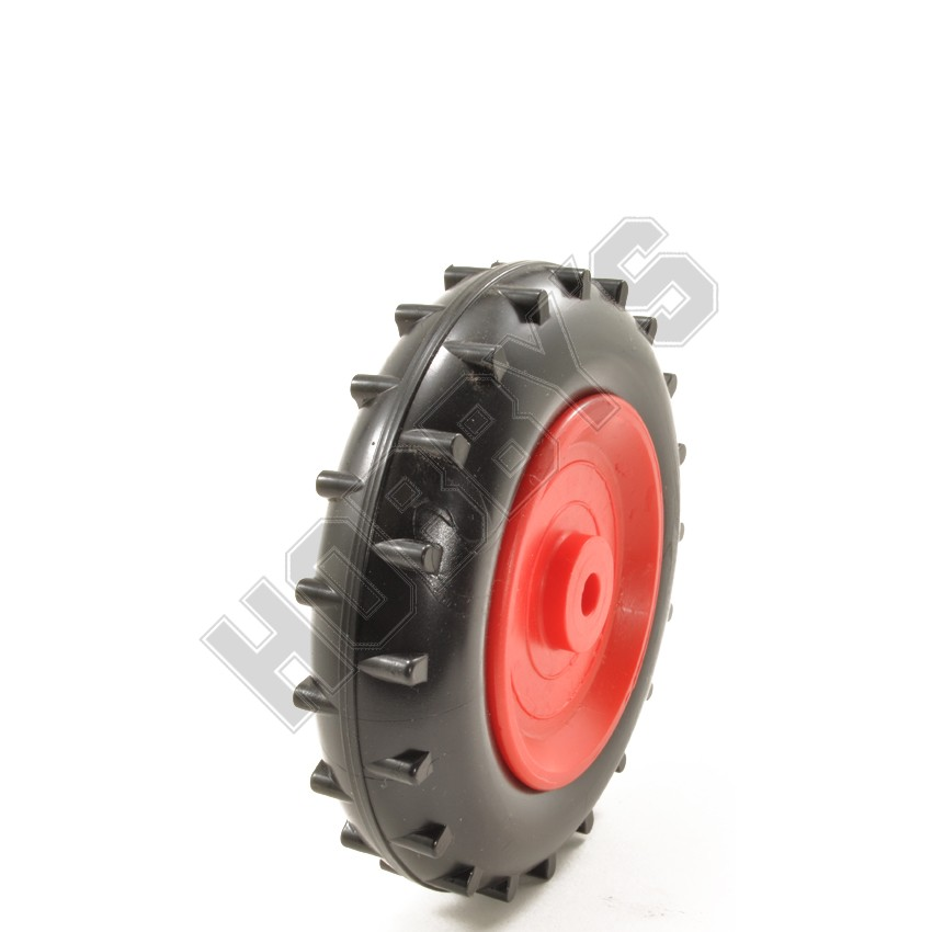 Red Black Tractor Tyre