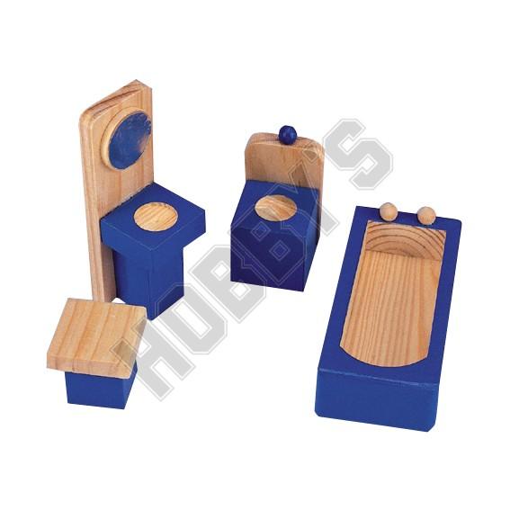 Wooden Bathroom Set
