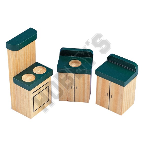 Wooden Kitchen Set
