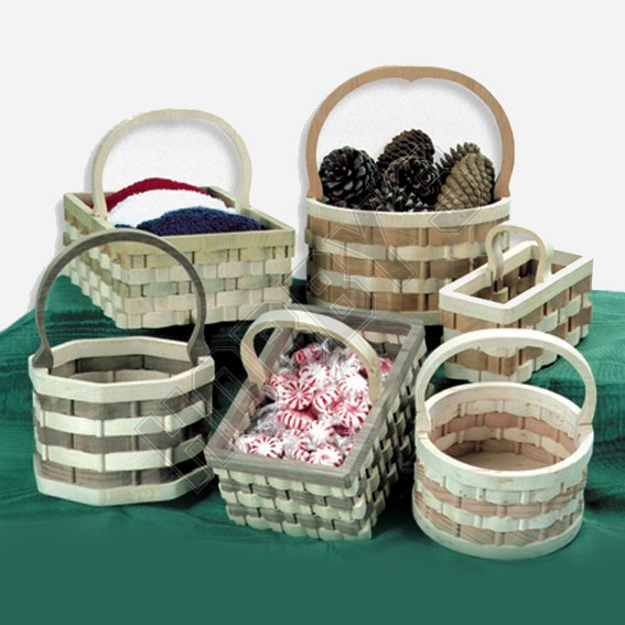 Wooden Basket - Set 1