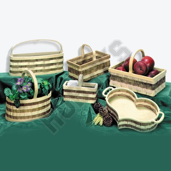 Wooden Basket - Set 2