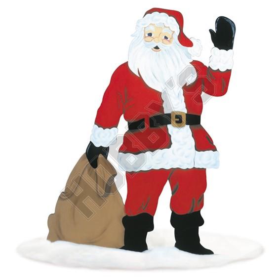 Life Size Santa Design