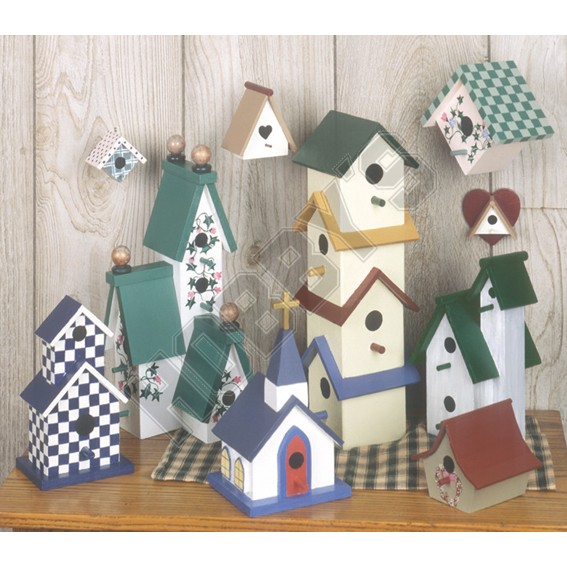 Decorative Bird Houses Design