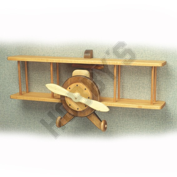 Woodworking airplane shelf plans PDF Free Download