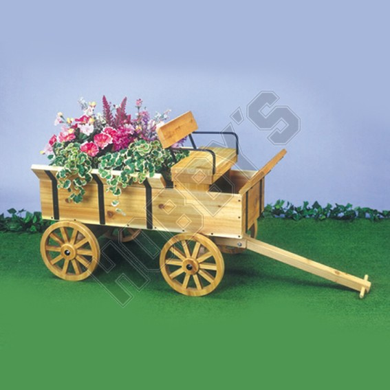 Hay Wagon Planter Design