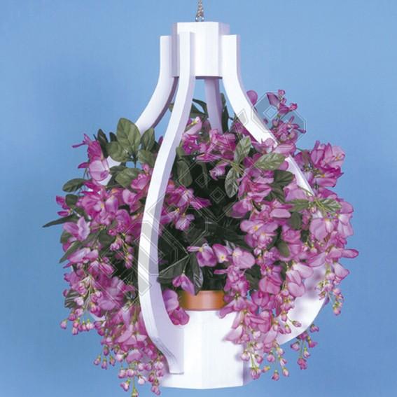 Teardrop Plant Hanger Design