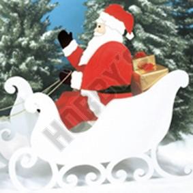 Santas Sleigh Design (